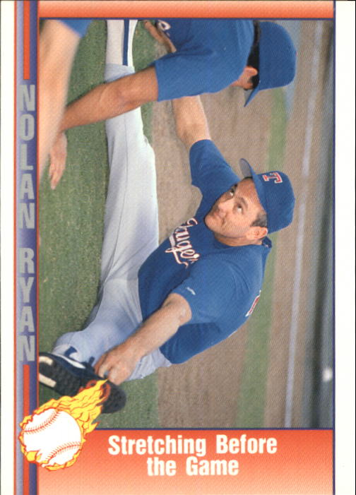 1992 Pacific Ryan Texas Express II #179 Nolan Ryan/Stretching Before the Game