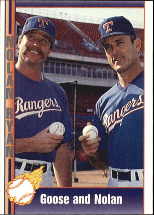 1992 Pacific Ryan Texas Express II #198 Nolan Ryan/Goose Gossage