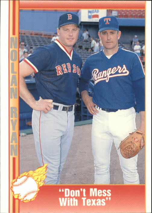 1992 Pacific Ryan Texas Express II #200 Nolan Ryan/Roger Clemens/Don't Mess With Texas