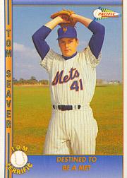 1992 Pacific Seaver #3 Tom Seaver/Destined to be a Met