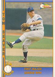 1992 Pacific Seaver #7 Tom Seaver/First Major League Win