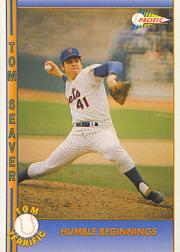 1992 Pacific Seaver #9 Tom Seaver/Humble Beginnings