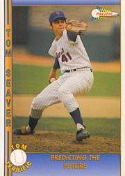 1992 Pacific Seaver #10 Tom Seaver/Predicting the Future