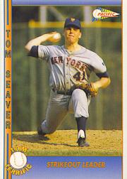 1992 Pacific Seaver #17 Tom Seaver/Strikeout Leader