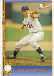 1992 Pacific Seaver #21 Tom Seaver/Twenty-Game Winner
