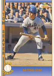 1992 Pacific Seaver #23 Tom Seaver/Batting Star