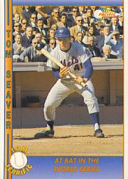 1992 Pacific Seaver #24 Tom Seaver/At Bat in the World Series