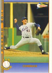 1992 Pacific Seaver #27 Tom Seaver/Comeback