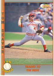 1992 Pacific Seaver #34 Tom Seaver/Traded to the Reds