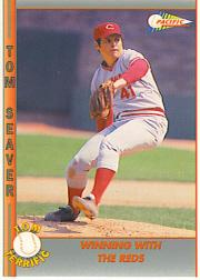 1992 Pacific Seaver #36 Tom Seaver/Winning with the Reds