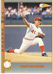 1992 Pacific Seaver #37 Tom Seaver/No-Hitter