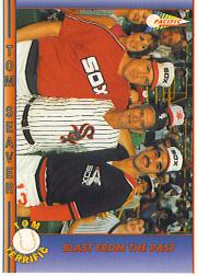 1992 Pacific Seaver #57 Tom Seaver/Luke Appling/Ozzie Guillen/Blast Fro
