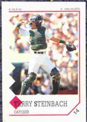 1992 Panini Stickers #14 Terry Steinbach