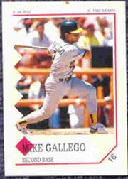 1992 Panini Stickers #16 Mike Gallego
