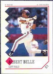 1992 Panini Stickers #51 Albert Belle