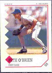 1992 Panini Stickers #55 Pete O'Brien