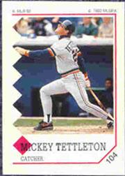 1992 Panini Stickers #104 Mickey Tettleton