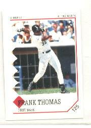 1992 Panini Stickers #125 Frank Thomas
