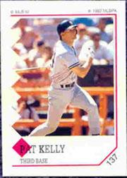 1992 Panini Stickers #137 Pat Kelly