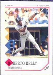 1992 Panini Stickers #140 Roberto Kelly