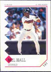 1992 Panini Stickers #141 Mel Hall