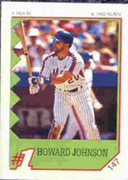 1992 Panini Stickers #147 Howard Johnson