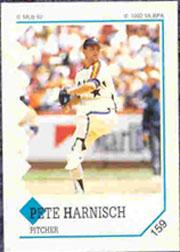 1992 Panini Stickers #159 Pete Harnisch