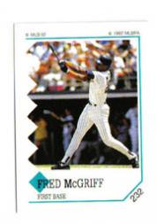 1992 Panini Stickers #232 Fred McGriff