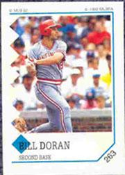1992 Panini Stickers #263 Bill Doran