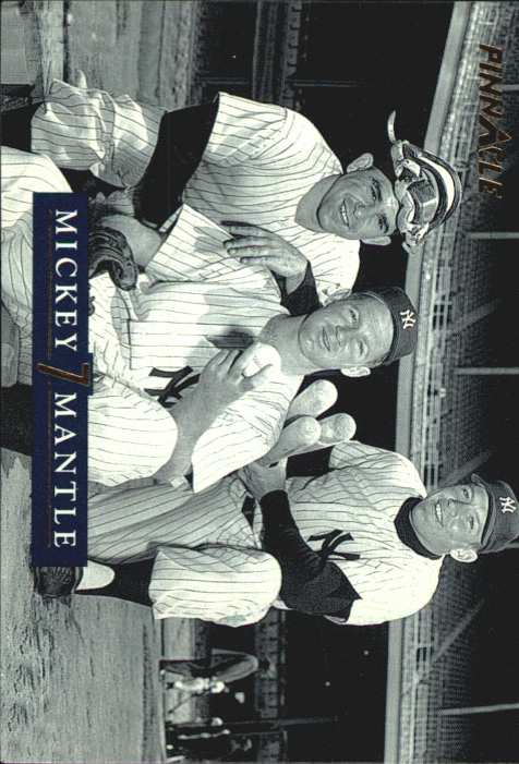 1992 Pinnacle Mantle #25 Whitey and Yogi/Whitey Ford/Yogi Berra