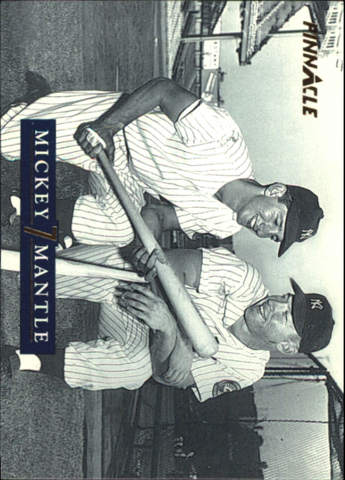1992 Pinnacle Mantle #26 Mick and Billy/Billy Martin