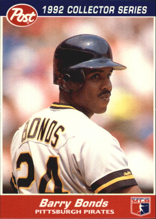 1992 Post #15 Barry Bonds