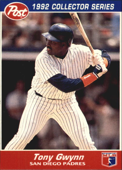 1992 Post #26 Tony Gwynn front image