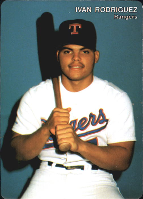 1992 Rangers Mother's #5 Ivan Rodriguez