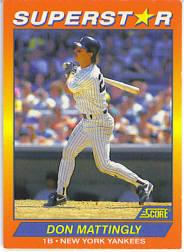 1992 Score 100 Superstars #23 Don Mattingly