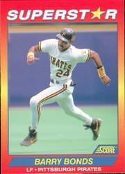 1992 Score 100 Superstars #26 Barry Bonds