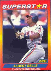 1992 Score 100 Superstars #39 Albert Belle