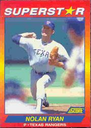 1992 Score 100 Superstars #50 Nolan Ryan