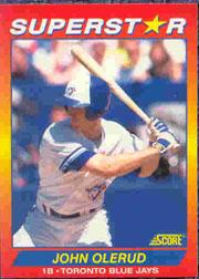 1992 Score 100 Superstars #71 John Olerud