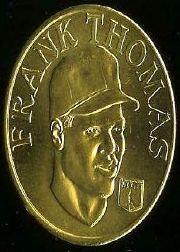1992 Sports Stars Collector Coins #45 Frank Thomas