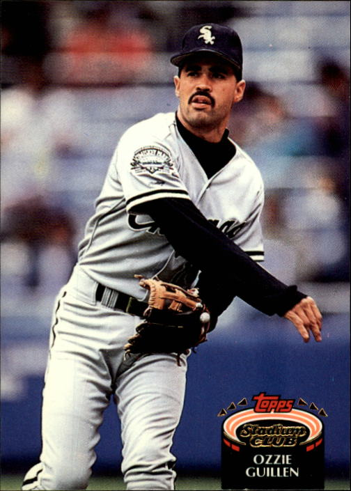 1992 Stadium Club #20 Ozzie Guillen