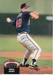 1992 Stadium Club #60 Steve Avery