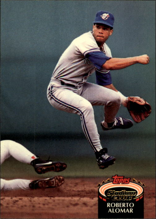 1992 Stadium Club #159 Roberto Alomar