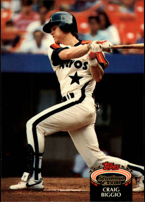 1992 Stadium Club #200 Craig Biggio