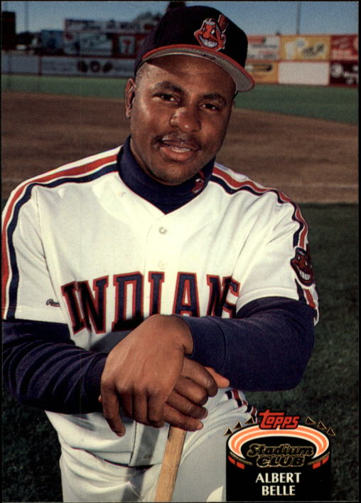 1992 Stadium Club #220 Albert Belle