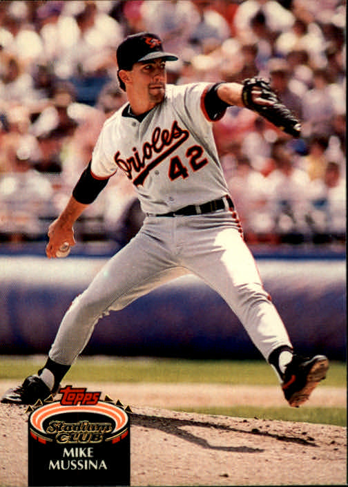1992 Stadium Club #225 Mike Mussina