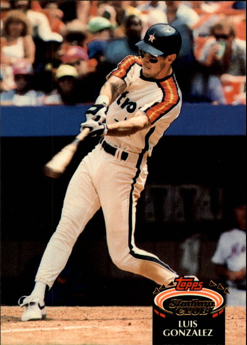 1992 Stadium Club #227 Luis Gonzalez