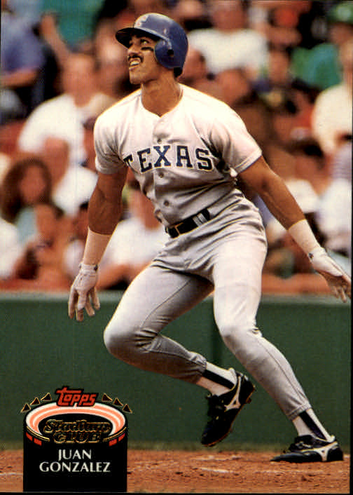 1992 Stadium Club #240 Juan Gonzalez