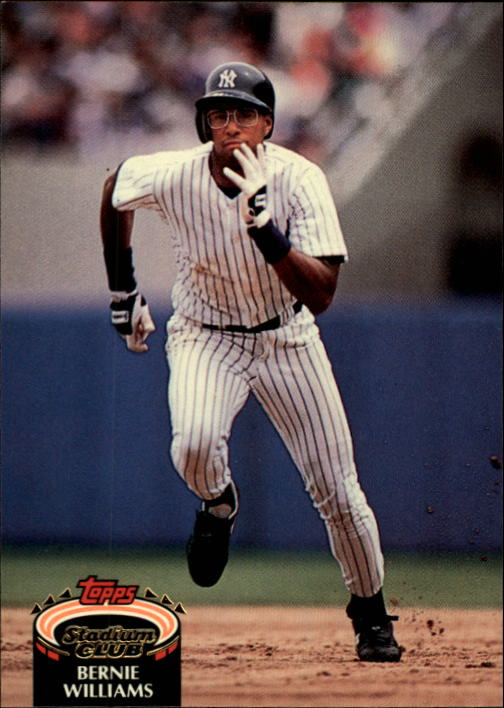 1992 Stadium Club #260 Bernie Williams