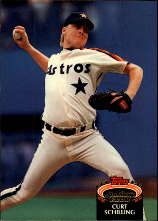 1992 Stadium Club #279 Curt Schilling